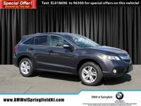 CARFAX One-Owner. Gray 2014 Acura RDX Technology