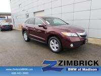 Options:  2014 Acura Rdx Tech Pkg|3.5 Liter|6-Spd