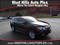 RDX 4D SUV AWD W/TECH  Options:  Navigation System With