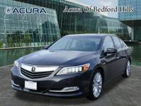 Take pleasure in the open road in this 2014 Acura RLX