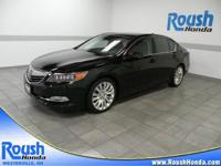 LIKE NEW ONE OWNER ACURA! This 2014 Acura RLX has been