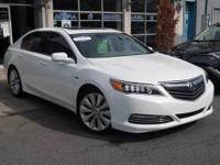 Certified. 2014 Acura RLX Sport Hybrid Advance Package