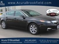 Acura Certified CARFAX 1-Owner Leather Seats, Sunroof,