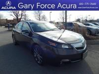 Our One Owner 2014 Acura Certified TL Special Edition