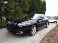SPORTY ACURA TSX, ONE OWNER, LOW MILES AND READY FOR