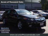 Options:  2014 Acura Tsx Sport Wagon Tech Pkg|Black/|V4
