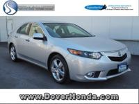 Carfax 1 Owner! Accident Free! 2014 Acura TSX 2.4