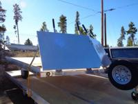 2014 ALCOM PFS 101X12 2 Place Snowmobile Trailer