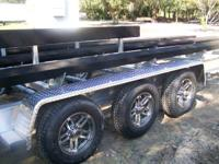 We are the manufacture of aluminum boat trailers you