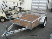 Thanks for looking at our Brand New H&H Aluminum 5' x