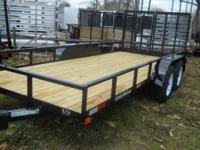 """2014 American LS16TA LS16TA 6'4"""" X 16' /wood deck/"""