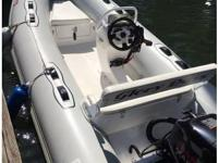 2014 12' Apex Dingy with Center Console. The boat is