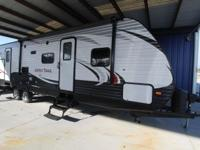 2014 ASPEN TRAIL BUNKHOUSE. SOLID SURFACE COUTERS,