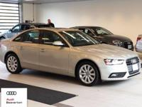 This outstanding example of a 2014 Audi A4 Premium is