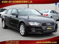 2014 Audi A4 2.0 T FWD Multitronic with Premium