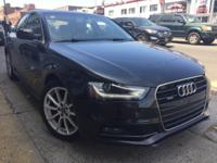 New Price! CARFAX One-Owner. Brilliant Black 2014 Audi