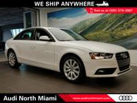 More information about the 2014 Audi A4: The Audi A4 is
