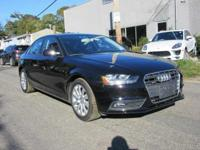 2014 Audi A4 2.0T Premium Brilliant Black Certified.