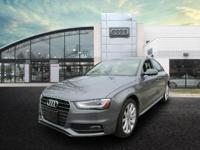 Recent Arrival! 2014 Audi A4 Premium Gy 2.0L 4-Cylinder