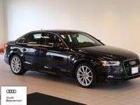 Check out this gently-driven 2014 Audi A4 we recently