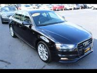 Options:  2014 Audi A4 2.0T Premium Plus|Black|Recent
