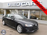 2014 Audi A4 2.0T Premium Plus! ** ACCIDENT FREE CARFAX