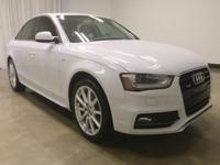 This handsome-looking 2014 Audi A4 is the one-owner car