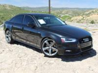 Quattro. Gasoline! Turbo!   This beautiful 2014 Audi A4