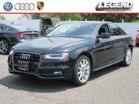 Recent Arrival! 2014 Audi A4 2.0T Premium Plus Phantom