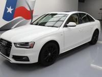 2014 Audi A4 with 2.0L Turbocharged I4 DI