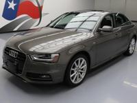2014 Audi A4 with S Line Package,2.0L Turbocharged I4