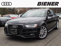 Certified! AUDI A4 quattro Premium Plus Loaded!