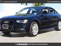 AUDI CERTIFIED *** LOW MILES *** DEALERSHIP MAINTAINED