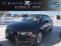 Recent Arrival! CARFAX One-Owner. Black 2014 Audi A5