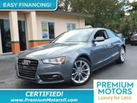 Options:  2014 Audi A5 2Dr Coupe Automatic Quattro