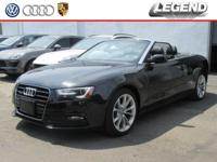 Recent Arrival! 2014 Audi A5 2.0T Premium Plus Black