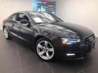 LOW MILEAGE 1 OWNER Clean CARFAX. Blue 2014 Audi A5