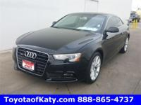 Options:  2014 Audi A5|Black|Leather And Push Button