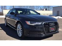 This 2014 Audi A6 is a perfect choice of a vehicle for