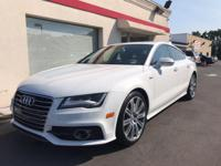 New Price! 2014 Audi A7 3.0T Prestige Ibis White