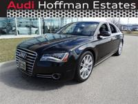 This Audi A8 has a strong Twin Turbo Premium Unleaded