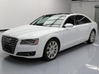 2014 Audi A8 with 3.0L Turbocharged Diesel V6
