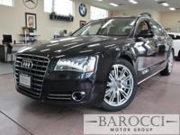 Options:  2014 Audi A8 4.0T Quattro Lwb Awd  4Dr