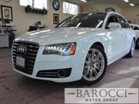 Options:  2014 Audi A8 4.0T Quattro Lwb Awd  4Dr