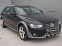 Options:  2014 Audi Allroad Premium Plus|Phantom Black