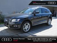 Audi Certified, 2.0L I4 TFSI Direct Injection DOHC, and