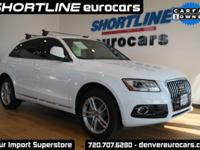 CARFAX One-Owner. Clean CARFAX. 2014 Audi Q5 3.0T