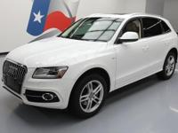 2014 Audi Q5 with S Line Package,3.0L V6 Engine,Leather