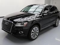 2014 Audi Q5 with 2.0L Hybrid I4 Engine,Leather