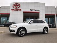 Take command of the road in the 2014 Audi Q5! A great
